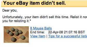 8 mouse balls