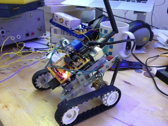 Robot with MotorPiTX board